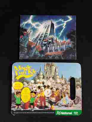 Disney Tower Of Terror Frame And Activity Book