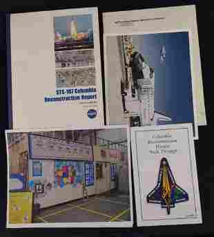 STS-107 Columbia Reconstruction Report NASA Lot