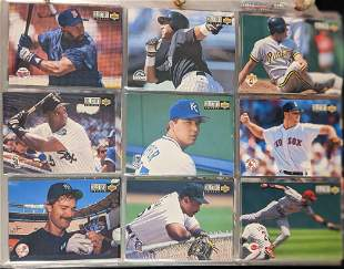 800 to 1000 1994 Upper Deck Bowman Topps Baseball Cards