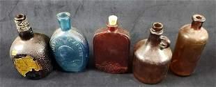 5 Vintage Bottles