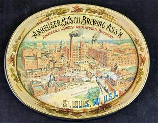 Anheuser Busch Americas Largest Favorite Brewery Tin