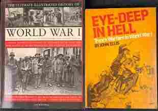 Two World War 1 Photo Books