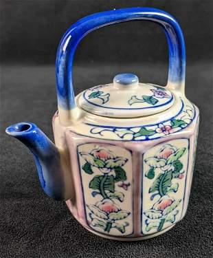 Vintage Ben Rickert Hand Painted Mini Tea Pot