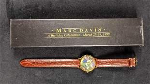Marc Davis Disney Snow White And Dopey Watch Limited