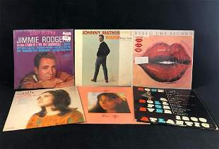 Vintage Vinyl Pop Rock Album Lot Of 6