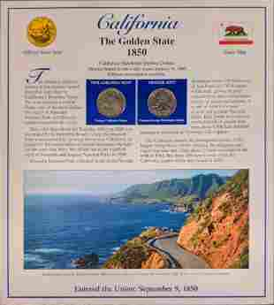 America The Beautiful State Quarters & Stamps