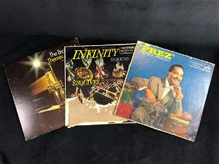 Vintage Vinyl Jazz Latin Albums Lot Of 3