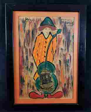Andre Francois, 1915-2005 Oil, Mid-Century