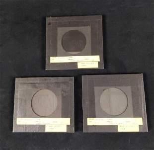 3 Barnum & Bailey Circus Prototype Lenticular Glasses