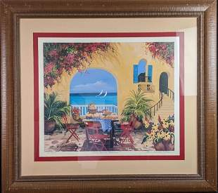 Framed Sharie Hatchett-Bohlmann Summertime En Provence