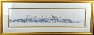 Leonard Weber Framed Print St Augustine Florida S7