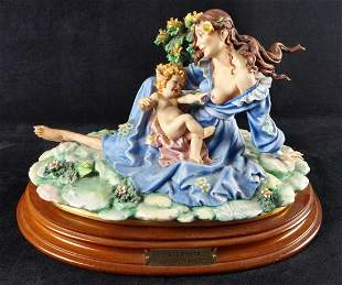 Laurenz By Capodimonte Mother With Child LE
