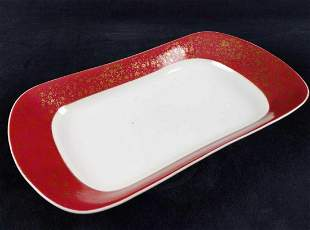 Vingage Martial Redon Limoges Porcelain Serving Dish