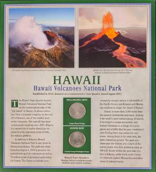 America The Beautiful State Quarters & Stamps Hawaii