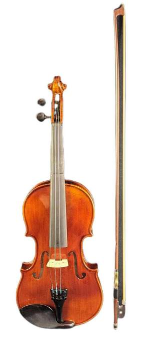 Violmaster Young Master Full Sized Violin With Case