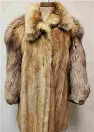 Olivier Fox and Mink Fur Coat
