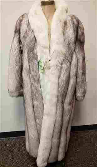 Saga Fox Natural Blue Fox From Finland Full Length Fur