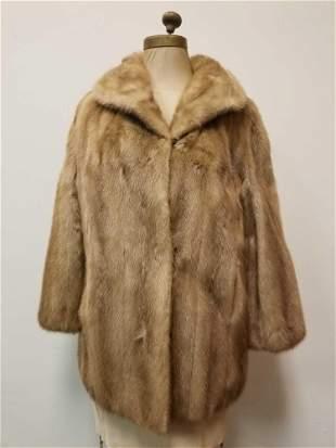 Vintage Mink Valles Furs By York Fur Co