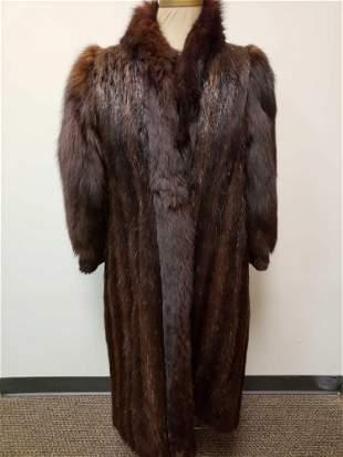 Harry Richer Furs Inc Canadian Beaver and Fox Fur Full