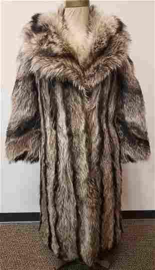 Marvin Richards Ltd Full Length Fur Coat