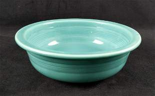 Retired Vintage Fiesta Turquoise Large Bowl