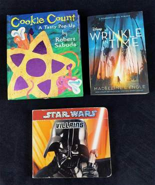 3 Star Wars Winkle In Time Cookie Count Books