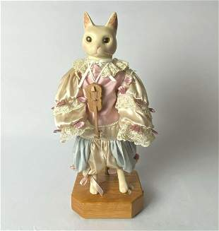 Love and Roses Dolls By Wendy Brent Limited Edition Cat