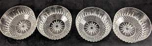 Vintage Ancoroc French Glass Serving Bowl