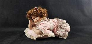 Gustave F. Wolff Porcelain Doll Unsigned Babygirl in
