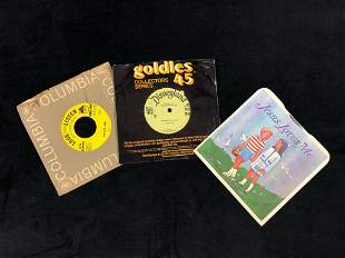Lot Of 3 Vinyl Records RPM 45 Story Time Children