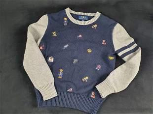 Childs Polo Ralph Lauren Cotton Size Medium Icons