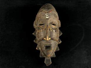 Vintage Authentic Massai Tribe Hand Carved Ceremonial