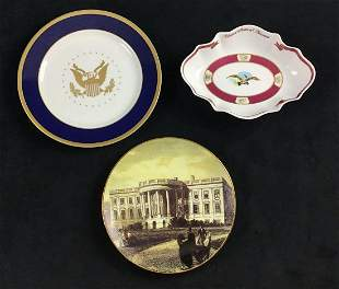 Lot of 3 American History Woodmere Commemorative Plates