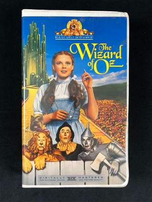 The Wizard Of Oz MGM UA Family Entertainment VHS 1996