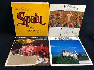 Vintage Vinyl Classical Latin Albums Lot Of 4