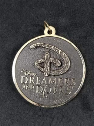 Disney Dreamers Doers Medallion Medal Curiosity