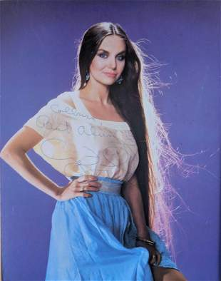 Crystal Gayle Hand Signed Autographed Photo