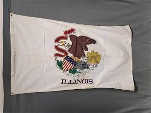 Illinois State Flag Cotton
