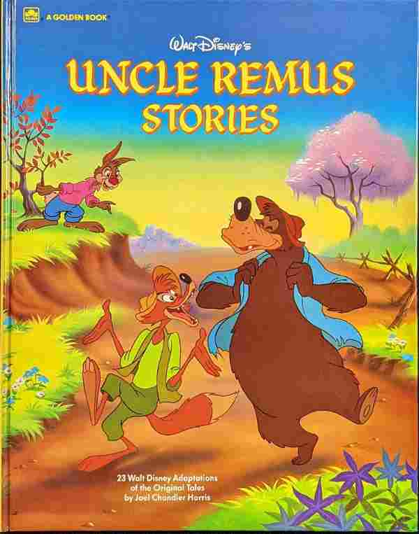 Vintage Disney Golden Book Uncle Remus Stories With