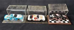 Lot of 3 Model Racing Cars