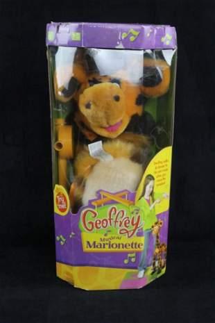 Geoffrey Musical Marionette Toy