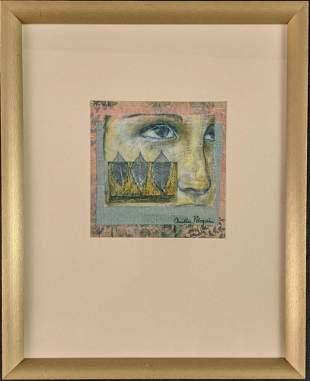 Christine Peloquin Print On Fabric Woman X1