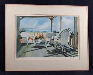 Framed LE Gustave Wander Pink Lemonade Print