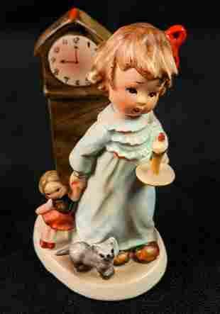 Vintage Napco Figurine Hummel Inspired Nighty Nite