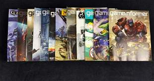 12 Back Issues Of Game Informer Video Game Magazine