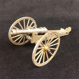 Vintage Toy Cannon, Marked France