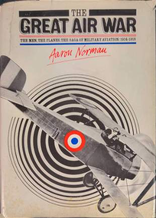 The Great Air War By Aaron Norman WWI Hardcover