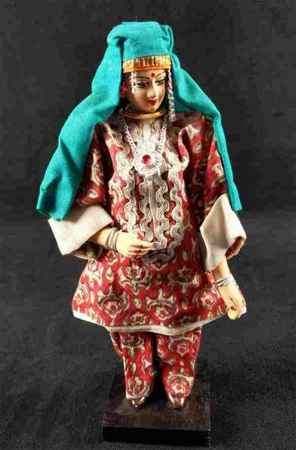 Vintage Brumfield Lady Doll Nepalese Dress