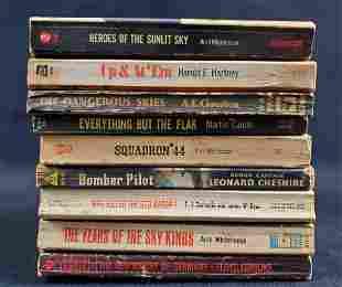 Military Books Martin Caidin World War Lot Of 9