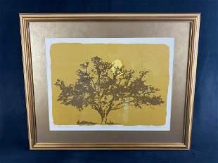 "Thelma H Fowler 99/100 Signed Artist Print "" Oak Tree """